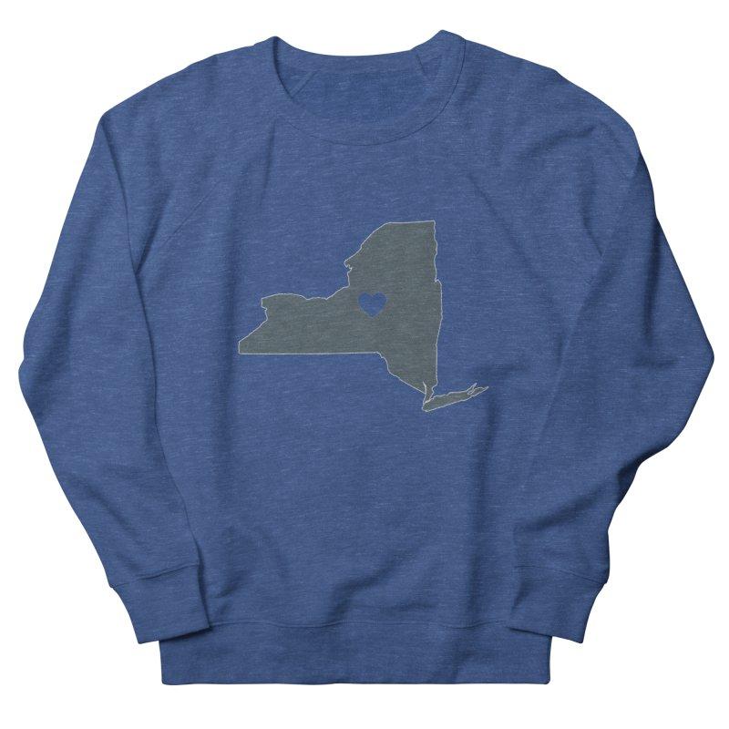 New York State Men's Sweatshirt by Townsquare Utica's Artist Shop