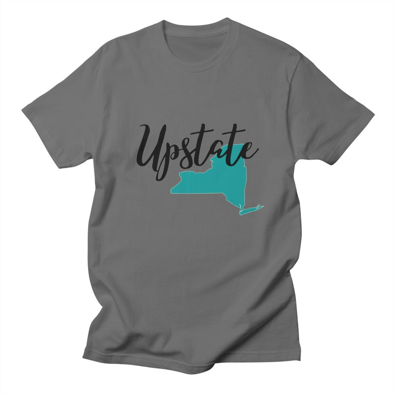 Upstate NY Men's T-Shirt by Townsquare Utica's Artist Shop