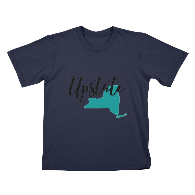Upstate NY Kids T-Shirt by Townsquare Utica's Artist Shop