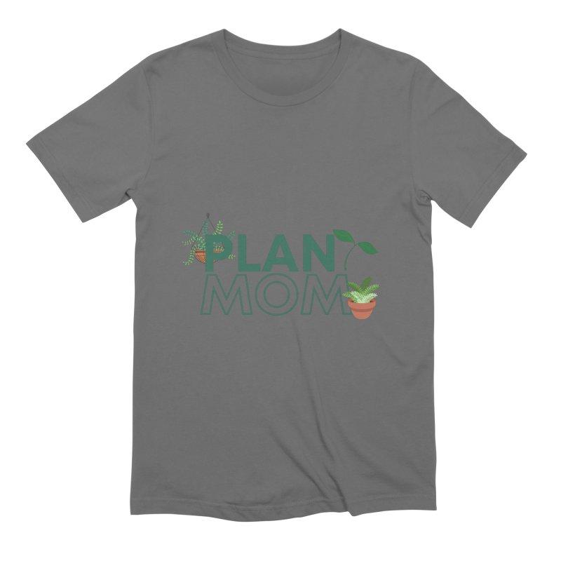 Plant Mom Men's T-Shirt by Townsquare Utica's Artist Shop