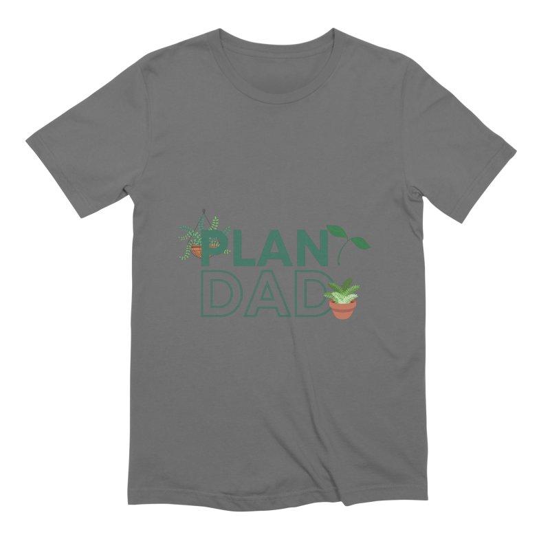 Plant Dad Men's T-Shirt by Townsquare Utica's Artist Shop