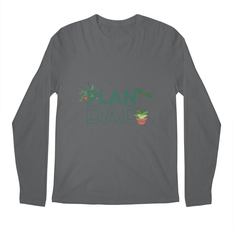 Plant Dad Men's Longsleeve T-Shirt by Townsquare Utica's Artist Shop