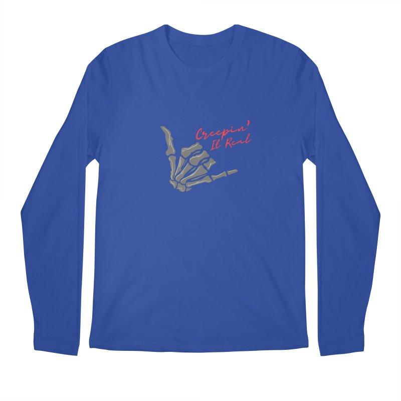 Creepin It Real Men's Longsleeve T-Shirt by Townsquare Utica's Artist Shop