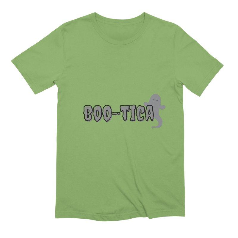 Boo-Tica Men's T-Shirt by Townsquare Utica's Artist Shop