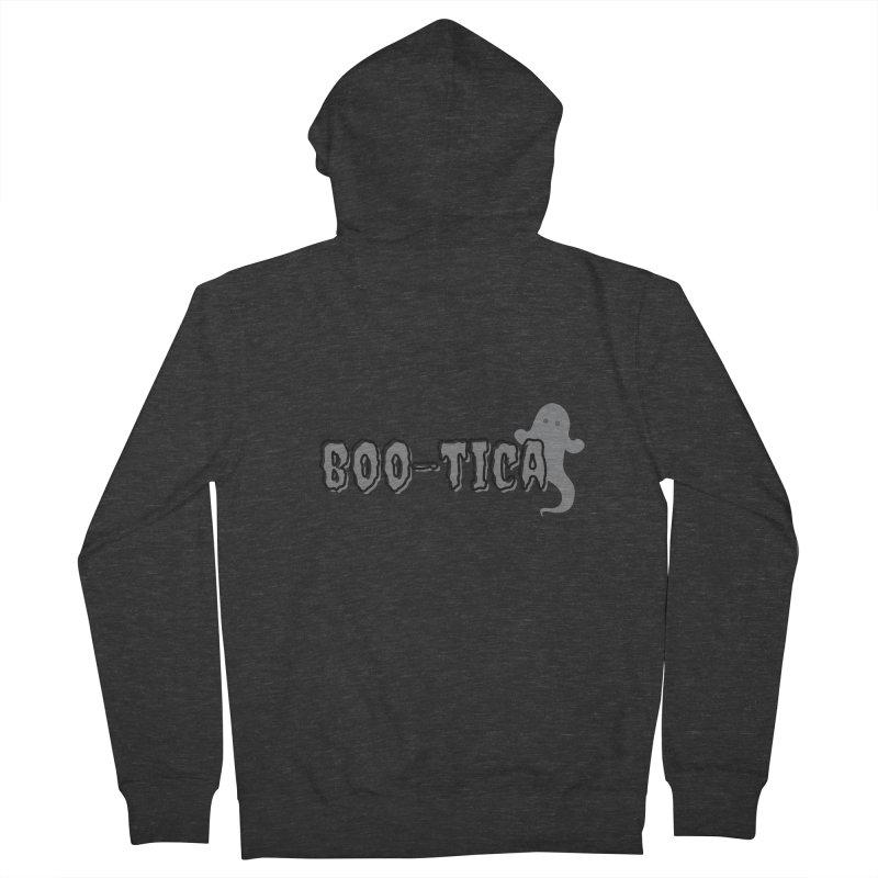 Boo-Tica Men's Zip-Up Hoody by Townsquare Utica's Artist Shop