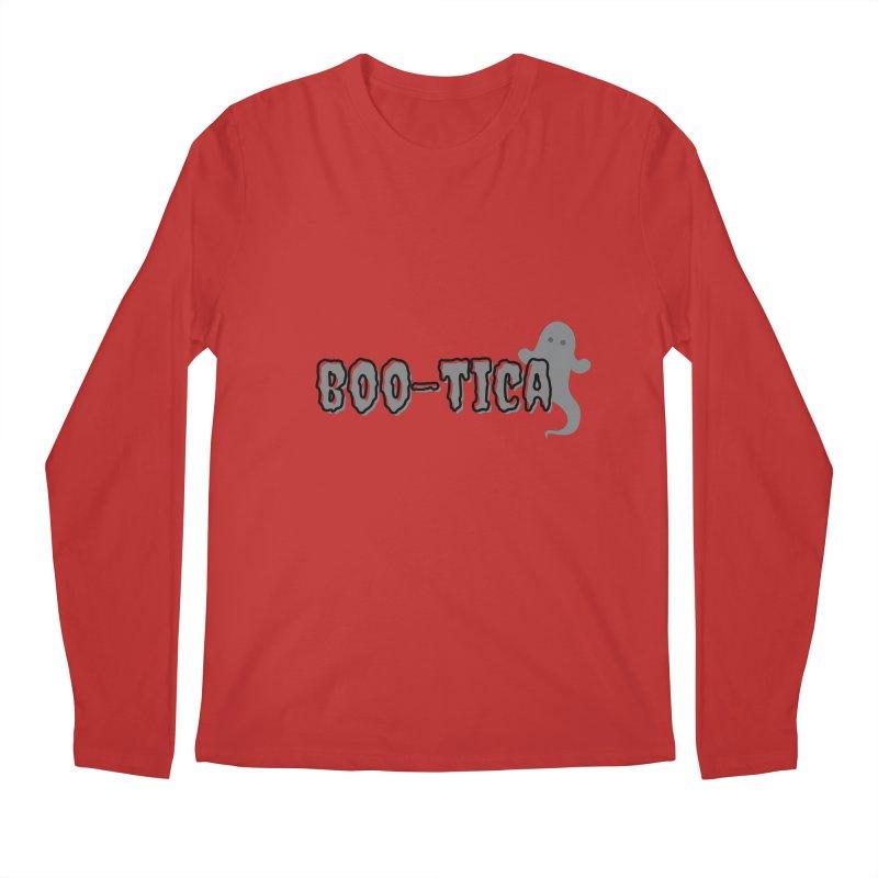 Boo-Tica Men's Longsleeve T-Shirt by Townsquare Utica's Artist Shop