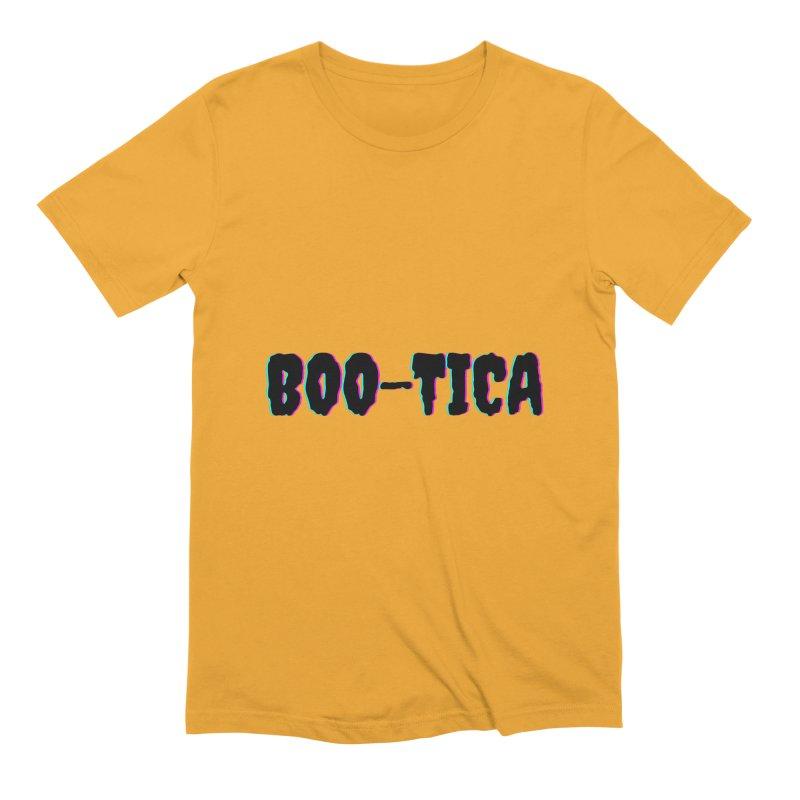 Boo-Tica 2 Men's T-Shirt by Townsquare Utica's Artist Shop