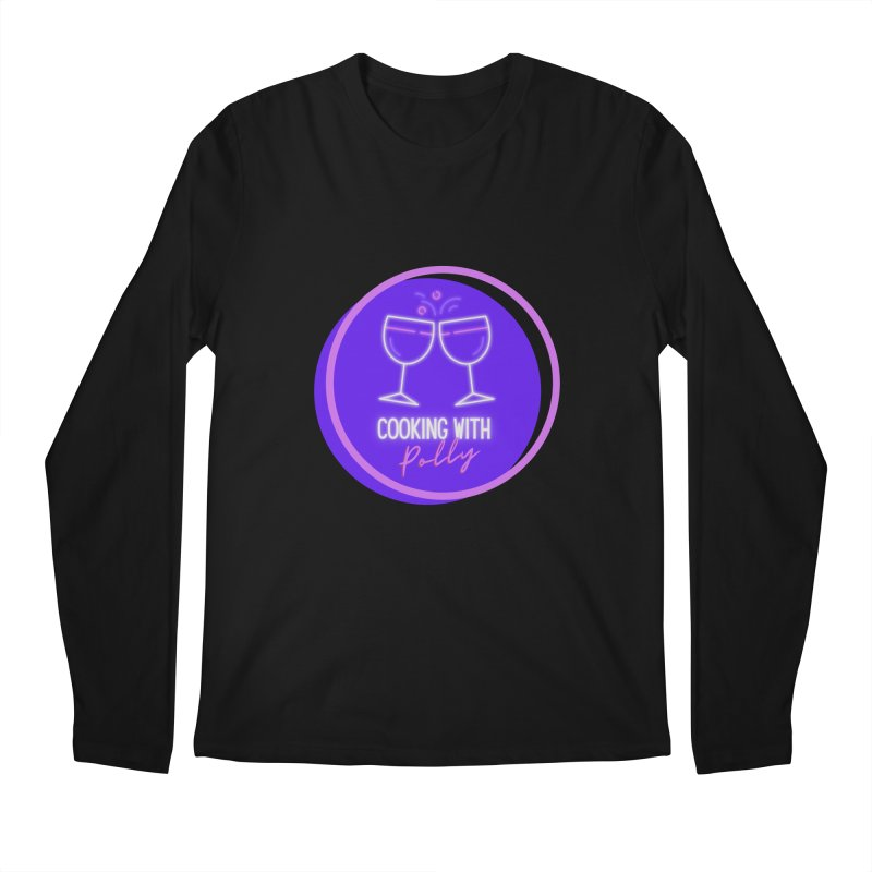 Cooking With Polly Men's Longsleeve T-Shirt by Townsquare Utica's Artist Shop