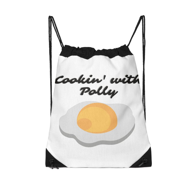 Cooking With Polly Eggs Accessories Bag by Townsquare Utica's Artist Shop