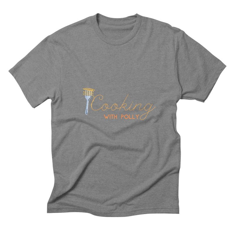 Cooking With Polly Fork Men's T-Shirt by Townsquare Utica's Artist Shop