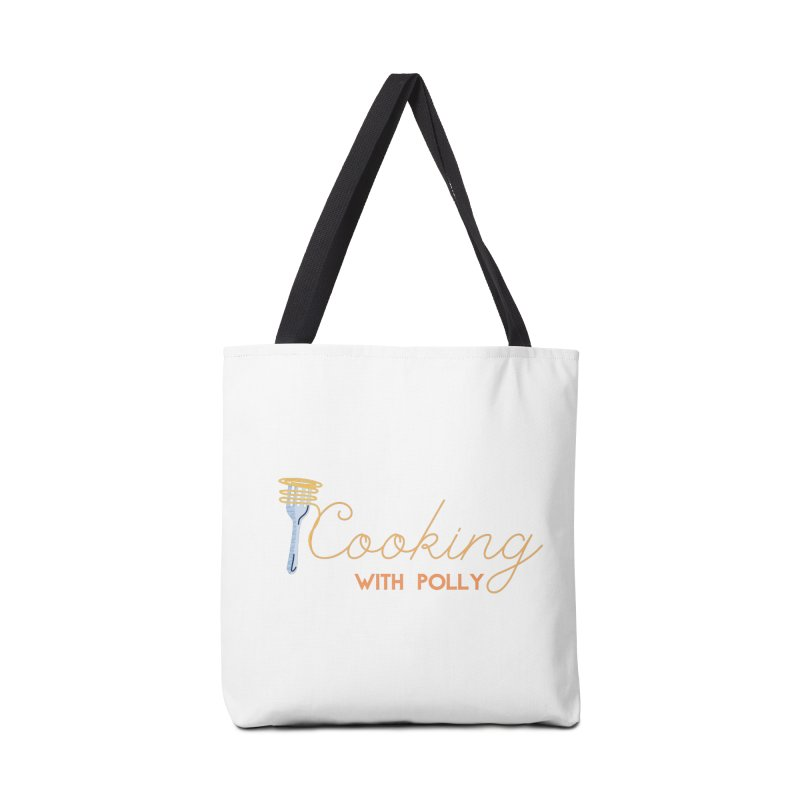 Cooking With Polly Fork Accessories Bag by Townsquare Utica's Artist Shop