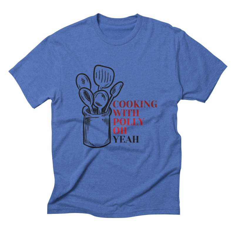 Cooking With Polly Utensils Men's T-Shirt by Townsquare Utica's Artist Shop