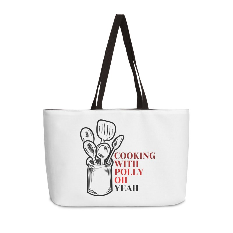 Cooking With Polly Utensils Accessories Bag by Townsquare Utica's Artist Shop
