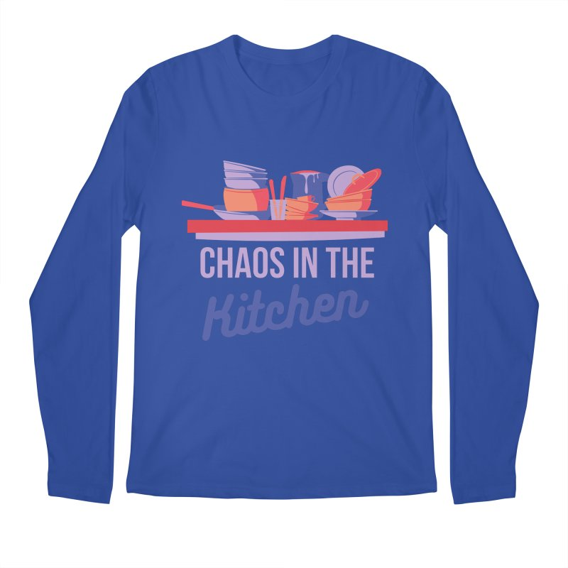 Chaos In The Kitchen Men's Longsleeve T-Shirt by Townsquare Utica's Artist Shop