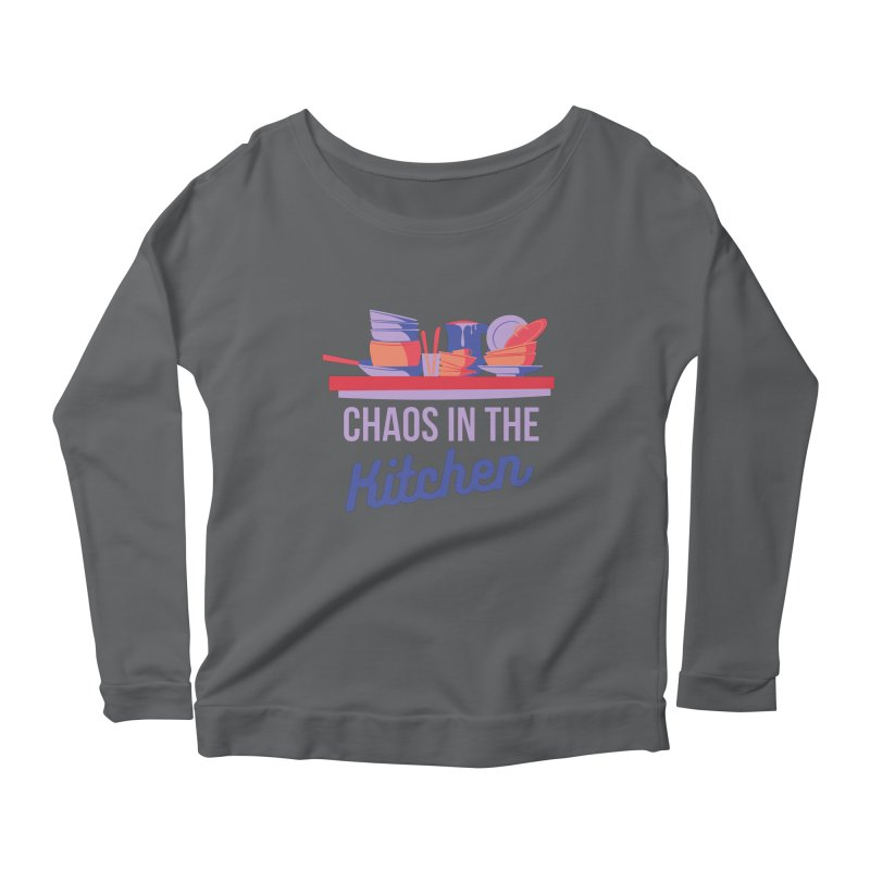 Chaos In The Kitchen Women's Longsleeve T-Shirt by Townsquare Utica's Artist Shop