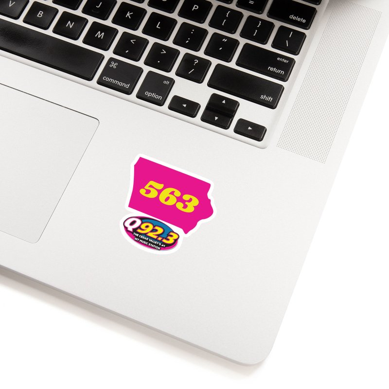 Q92.3 '563' Shirt Accessories Sticker by Townsquare Waterloo's Artist Shop