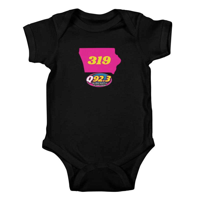 Q92.3 '319' Shirt Kids Baby Bodysuit by Townsquare Waterloo's Artist Shop