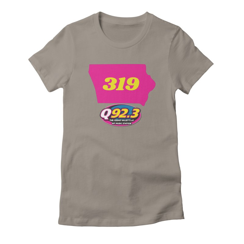 Q92.3 '319' Shirt Women's T-Shirt by Townsquare Waterloo's Artist Shop