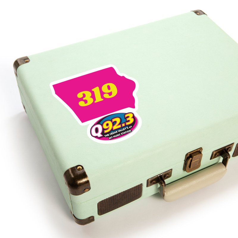 Q92.3 '319' Shirt Accessories Sticker by Townsquare Waterloo's Artist Shop