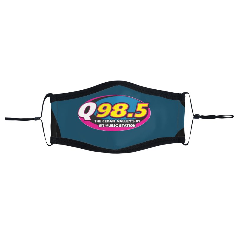 Q98.5 Face Mask Accessories Face Mask by Townsquare Waterloo's Artist Shop