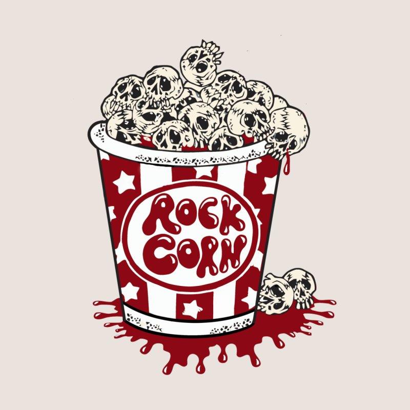 Rock Corn Men's T-Shirt by Toxic Onion - Weird and Funny Stuff