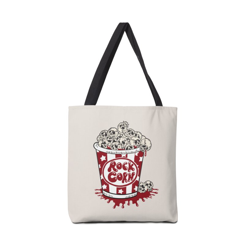 Rock Corn Accessories Tote Bag Bag by Toxic Onion