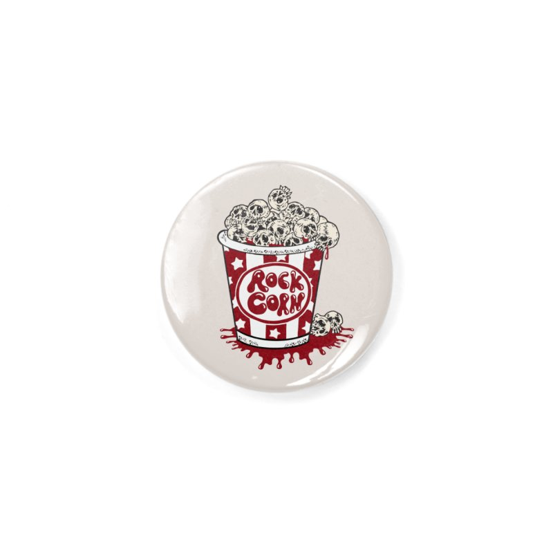 Rock Corn Accessories Button by Toxic Onion