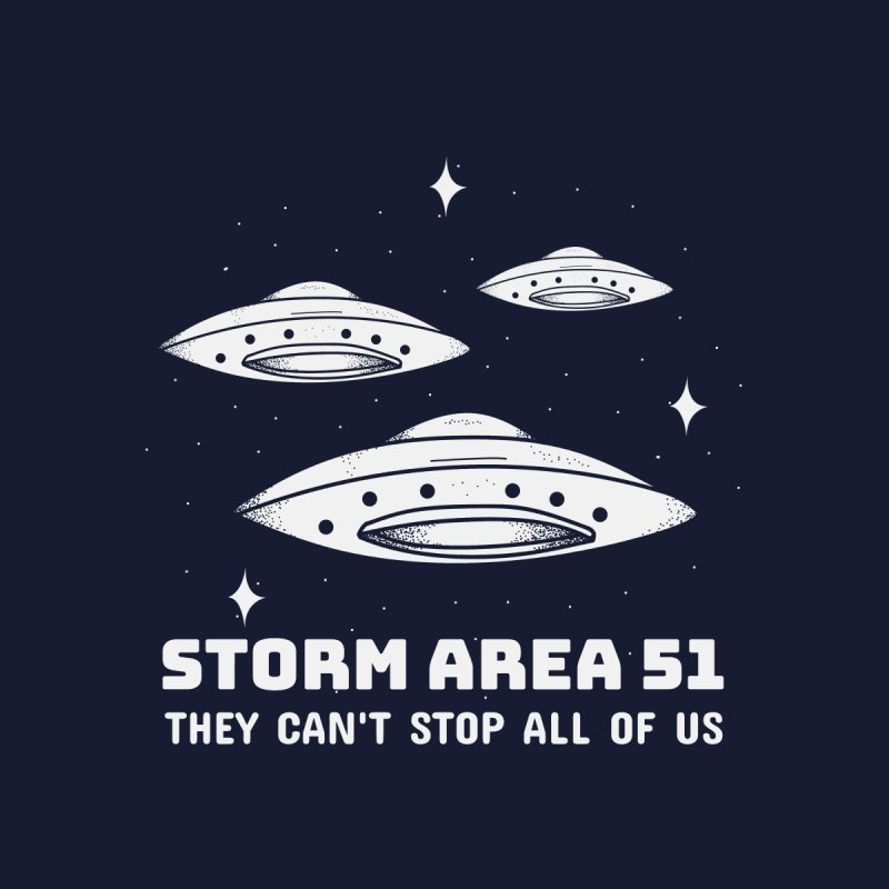 Storm Area 51 Men's T-Shirt by Toxic Onion