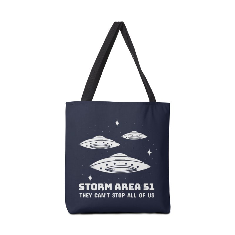 Storm Area 51 Accessories Tote Bag Bag by Toxic Onion