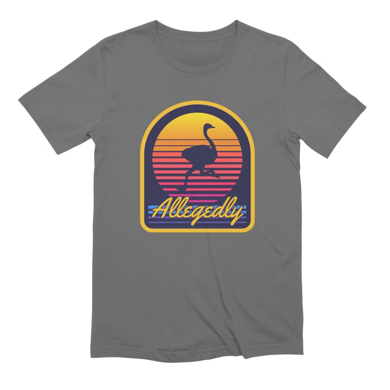 Allegedly Ostrich Men's T-Shirt by Toxic Onion
