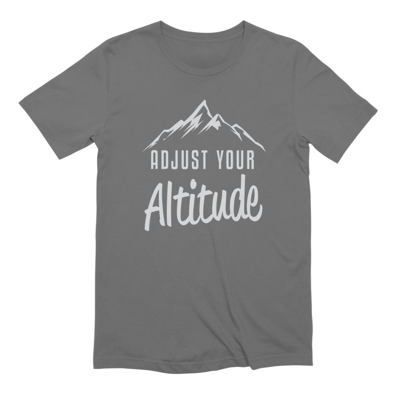 Adjust Your Altitude Men's T-Shirt by Toxic Onion