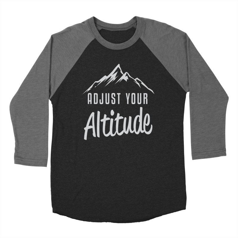 Adjust Your Altitude Men's Baseball Triblend Longsleeve T-Shirt by Toxic Onion
