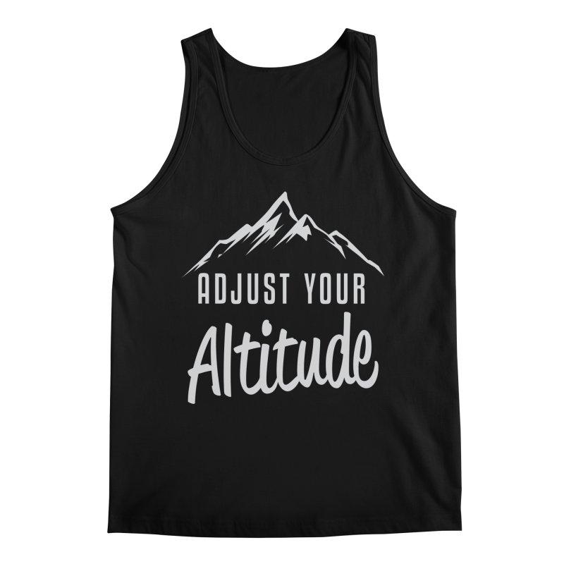 Adjust Your Altitude Men's Regular Tank by Toxic Onion
