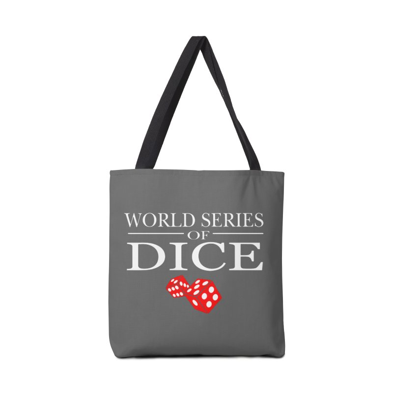 World Series Of Dice Accessories Tote Bag Bag by Toxic Onion