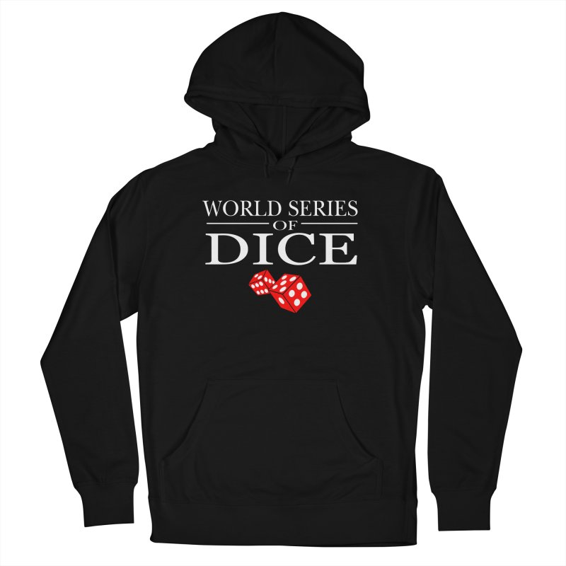 World Series Of Dice Men's French Terry Pullover Hoody by Toxic Onion