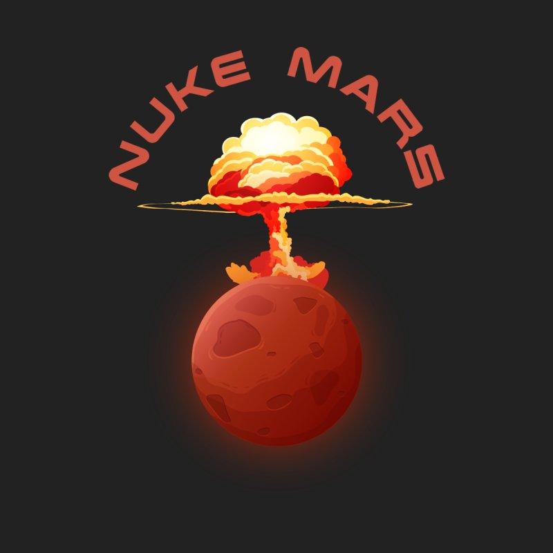 Nuke Mars Men's Sweatshirt by Toxic Onion