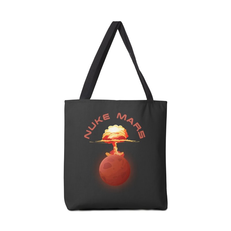 Nuke Mars Accessories Tote Bag Bag by Toxic Onion