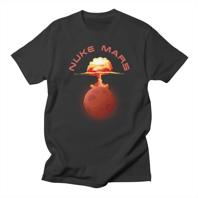 Nuke Mars Men's Regular T-Shirt by Toxic Onion