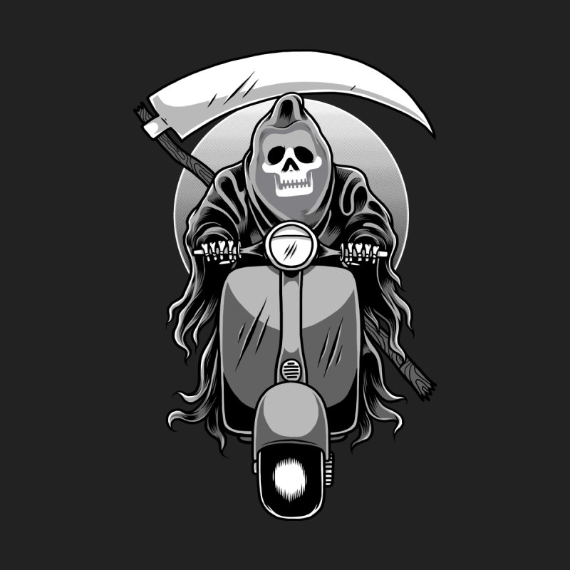Scooter Reaper Men's T-Shirt by Toxic Onion