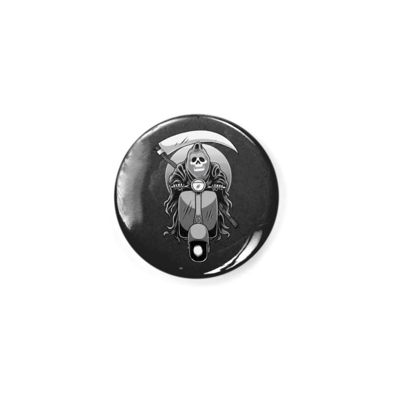 Scooter Reaper Accessories Button by Toxic Onion