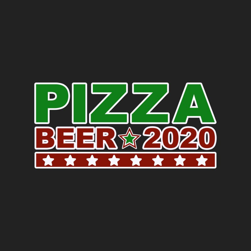 Pizza Beer 2020 Men's T-Shirt by Toxic Onion