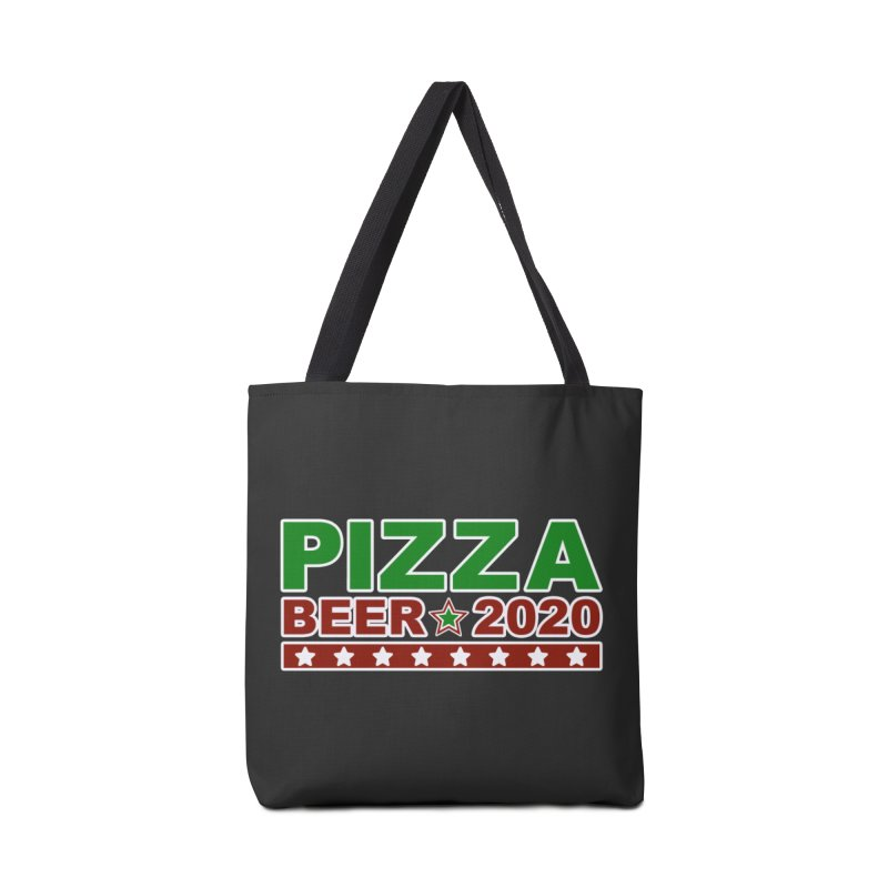 Pizza Beer 2020 Accessories Tote Bag Bag by Toxic Onion