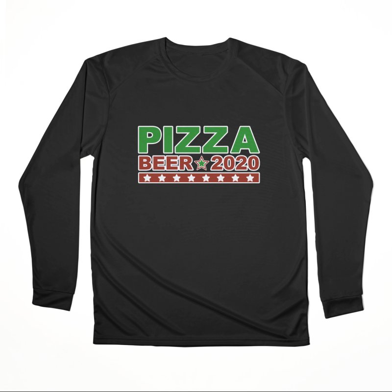 Pizza Beer 2020 Men's Performance Longsleeve T-Shirt by Toxic Onion