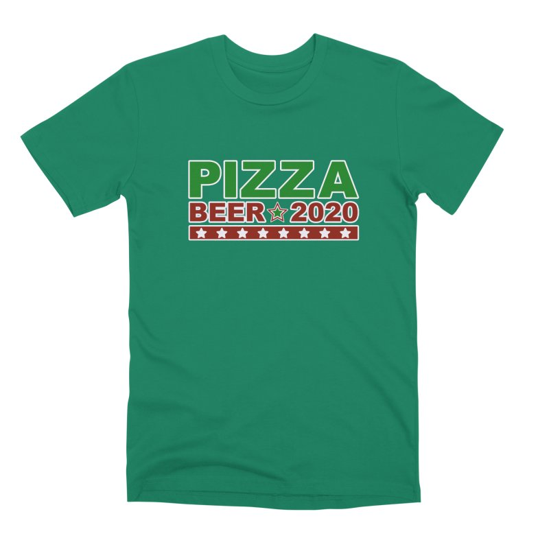 Pizza Beer 2020 Men's Premium T-Shirt by Toxic Onion