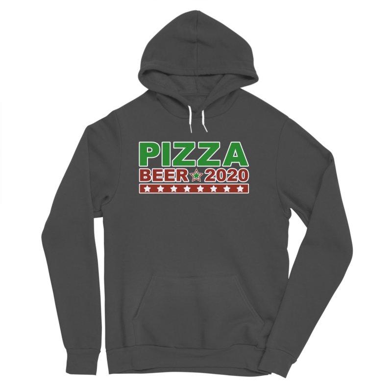 Pizza Beer 2020 Men's Sponge Fleece Pullover Hoody by Toxic Onion
