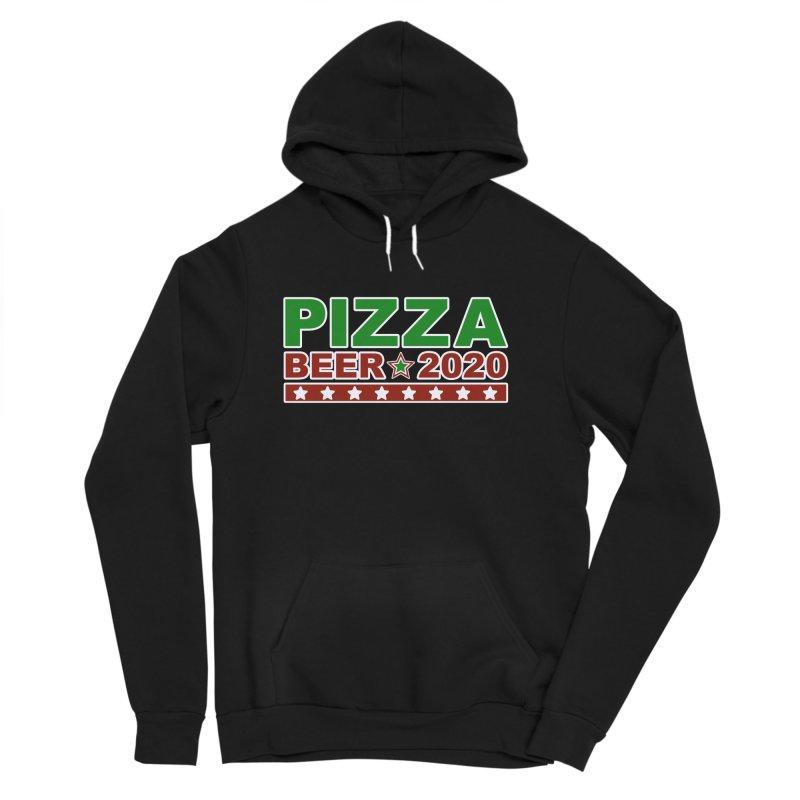 Pizza Beer 2020 Women's Sponge Fleece Pullover Hoody by Toxic Onion
