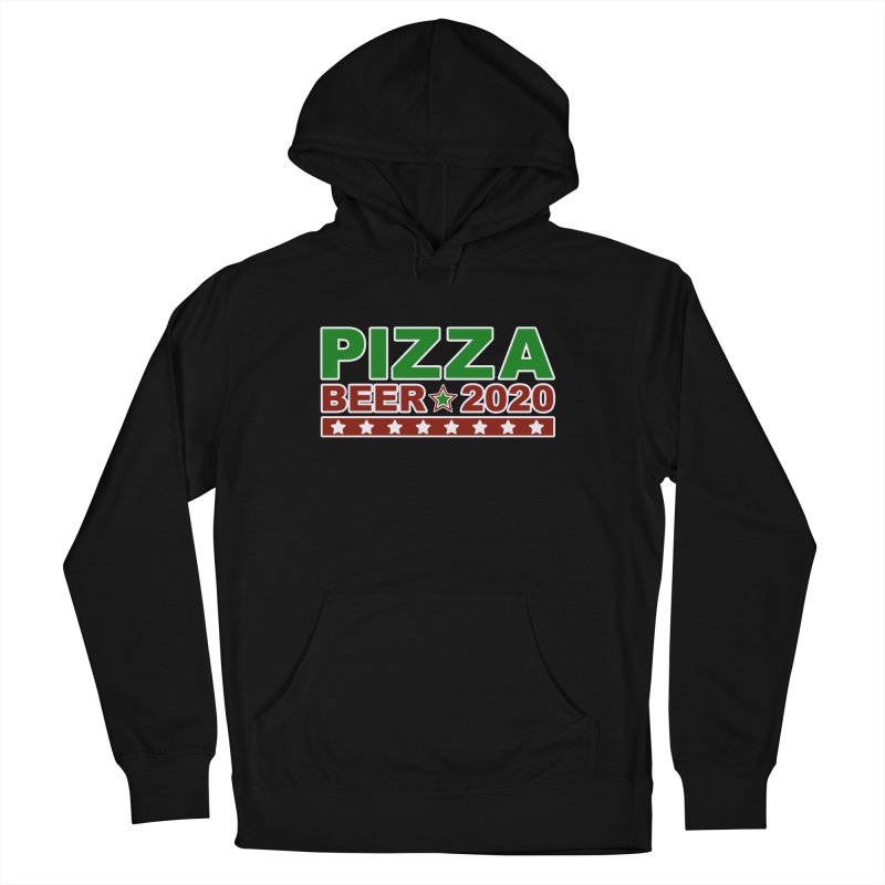 Pizza Beer 2020 Men's French Terry Pullover Hoody by Toxic Onion