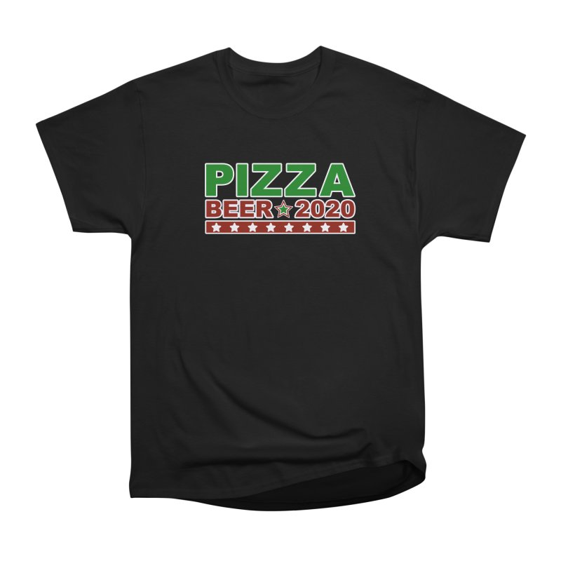 Pizza Beer 2020 Men's Heavyweight T-Shirt by Toxic Onion