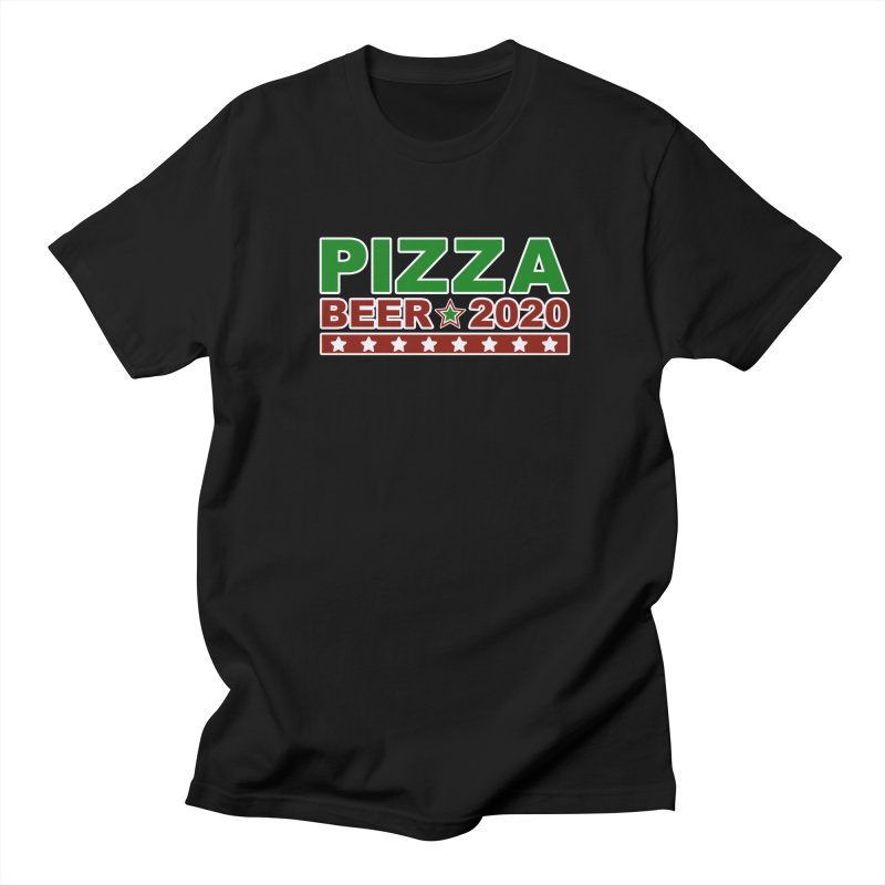 Pizza Beer 2020 Women's Regular Unisex T-Shirt by Toxic Onion