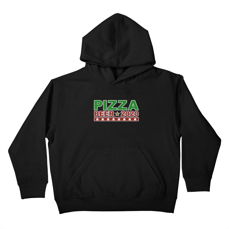 Pizza Beer 2020 Kids Pullover Hoody by Toxic Onion